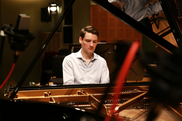 Michael McHale, Piano, plays for Waterford Music